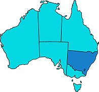 new south wales australia - Locations